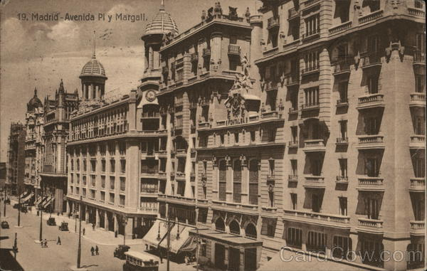 19. Madrid - avenida Pl. y Margall Spain Spain, Portugal
