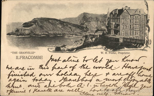 The Granville Ifracombe England