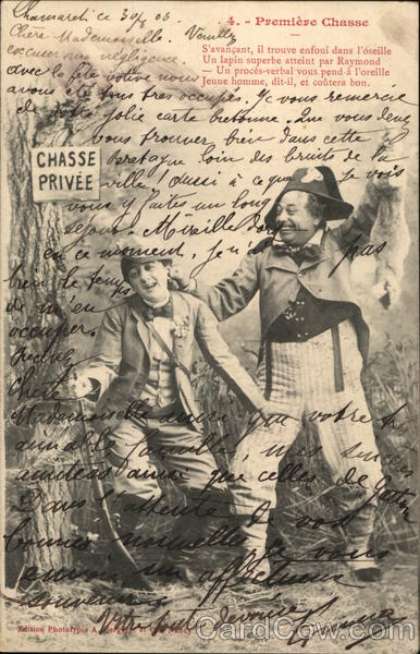 Premiere Chasse (First Hunt) France