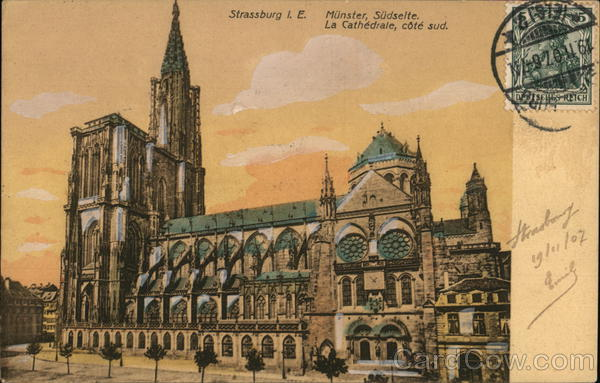 Cathedral - South Side Strasbourg France