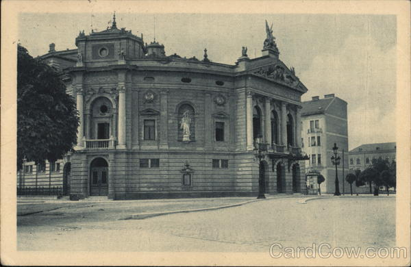 Opera House Ljubljana Slovenia Eastern Europe