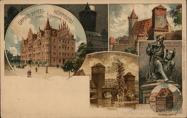 Grand Hotel Nuremberg Germany