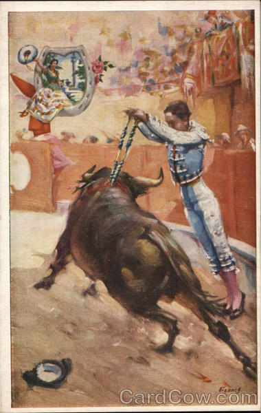 Bull Fight Nogales Mexico