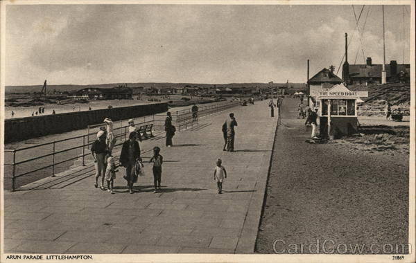 Arun Parade Littlehampton England Sussex