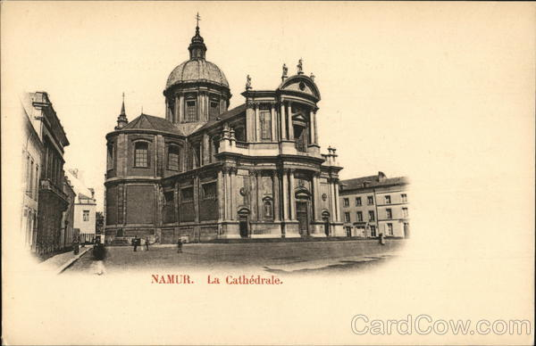 Cathedral Namur Belgium Benelux Countries