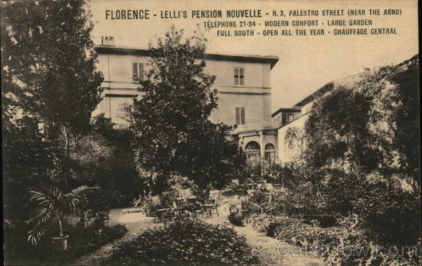 Lelli's Pension Nouvelle Florence Italy