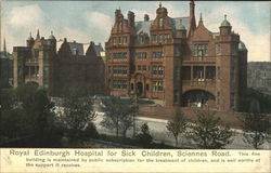 Royal Edinburgh Hospital for Sick Children