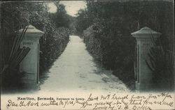 Entrance to Soncy