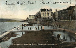 Childrens Boating Pond, Esplanade
