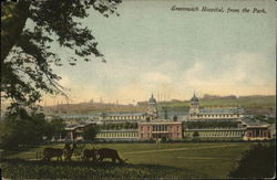 Greenwich Hospital from the Park