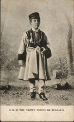 H. R. H. The Crown Prince of Bulgaria