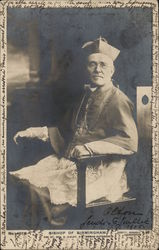 BISHOP OF BIRMINGHAM Postcard