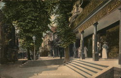 Ye Pantiles Tunbridge Wells Postcard