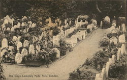 The Dogs Cemetery, Hyde Park