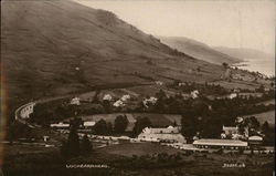 View of Village and Loch Earn