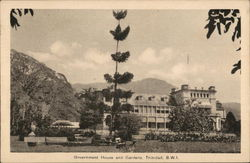 Government House and Gardens, Trinidad, B.W.I.