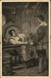 Painting of a Tavern Scene
