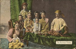 The burmese family