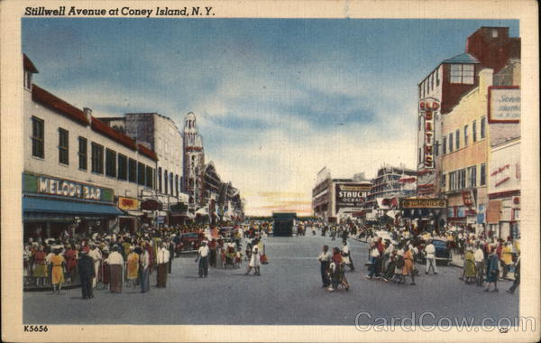 Stillwell Avenue Coney Island New York