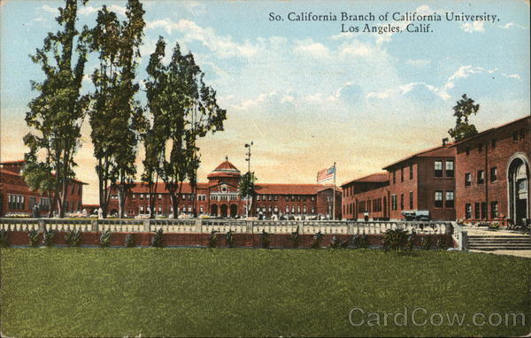 Souht California Branch of California University Los Angeles