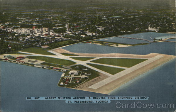 Albert Whitted Airport St. Petersburg Florida