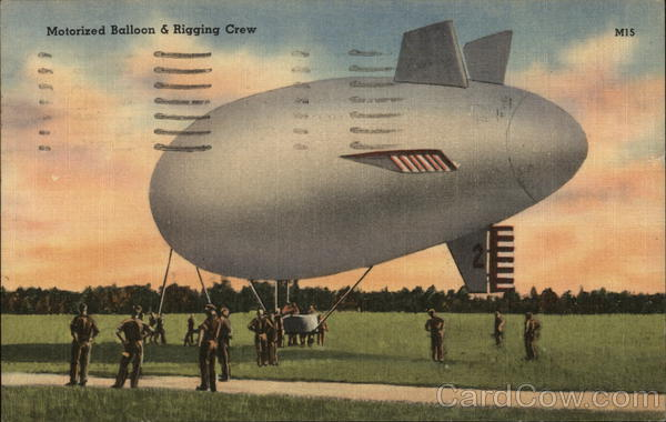 Motorized Balloon and Rigging Crew Aircraft