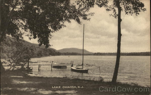 Lake Owassa Frankford New Jersey