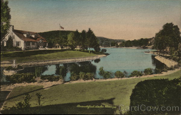 What Is My Paypal Email >> Beautiful Lake Lenape, Sussex Co. Andover, NJ Postcard