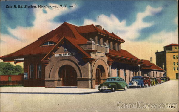 Erie R. Rd. Station Middletown New York