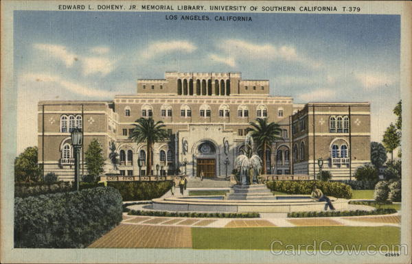 University of Southern California - Edward L. Doheny, Jr. Memorial Library Los Angeles