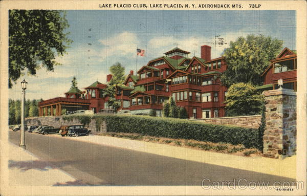 Lake Placid Club, Adirondack Mts. New York
