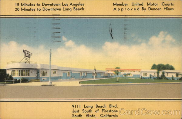 Southland Motel South Gate California