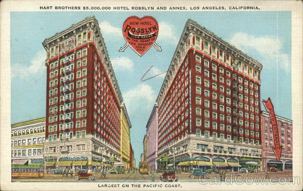 Hotel Rosslyn and Annex Los Angeles California