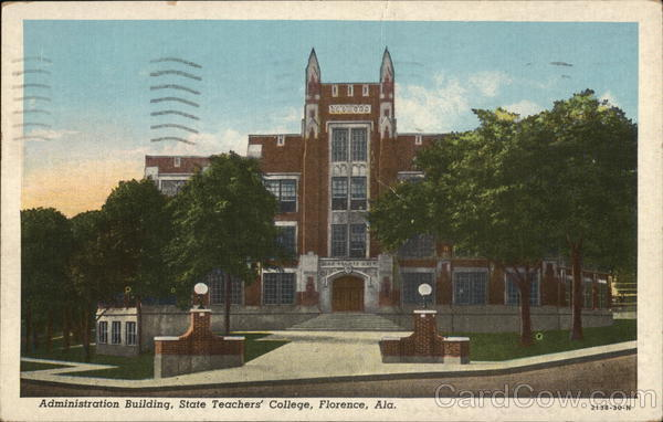 Administration Building, State Teachers' College Florence Alabama