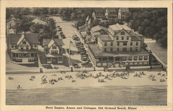 Hotel Empire, Annex and Cottages Old Orchard Beach Maine