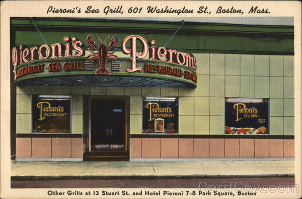 Pieroni's Sea Grill Boston Massachusetts
