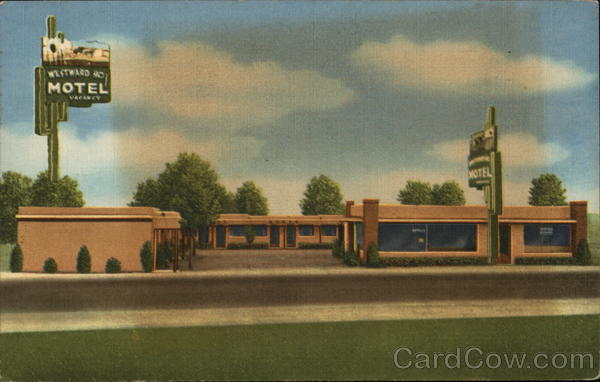 Westward Ho Motel & Cafe Albuquerque New Mexico