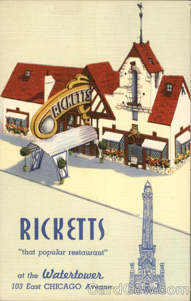 Ricketts Restaurant Chicago Illinois