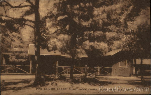 Pine-de-Mere Lodge, Shady Nook Camps West Newfield Maine