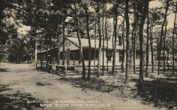 Blackwell's Camps (Route 28), Bass River Cape Cod Massachusetts