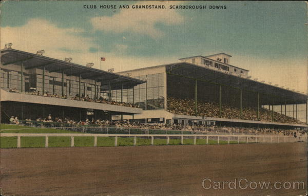 Club House and Grandstand, Scarborough Downs Maine