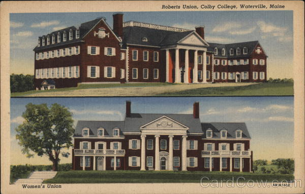 Colby College - Roberts Union and Women's Union Waterville Maine