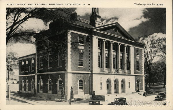 Post Office and Federal Building Littleton New Hampshire