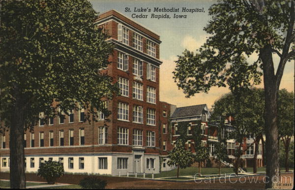 St. Luke's Methodist Hospital Cedar Rapids Iowa