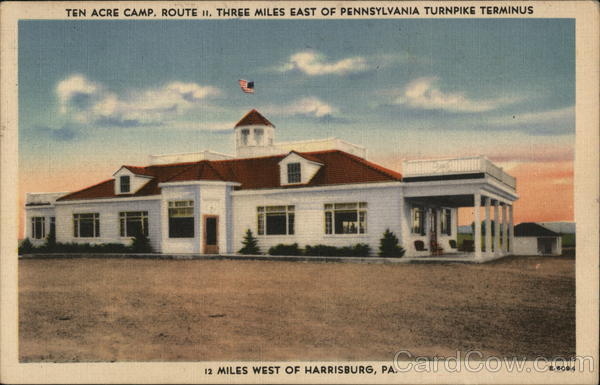 Ten Acre Camp Harrisburg Pennsylvania