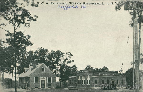 RCA Receiving Station Riverhead New York