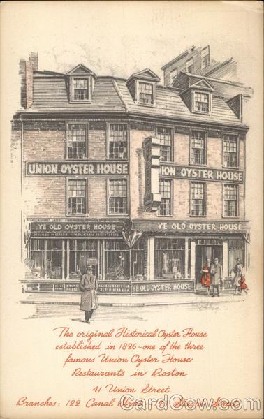Union Oyster House Boston Massachusetts