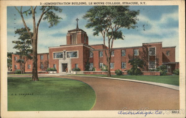 Administration Building, Le Moyne College Syracuse New York