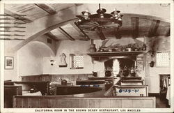 The Brown Derby Restaurant - California Room