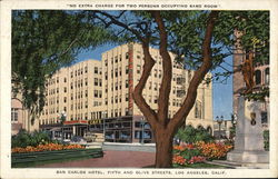 San Carlos Hotel, Fifth and Olive Streets